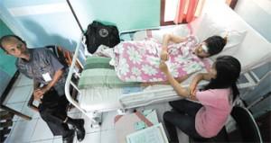 Kecelakaan, Garap Soal Unas di Rumah Sakit