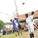 Kapolres Buka Liga Bola Voli Pelajar