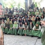 Lima Direksi BUMN Beri Kuliah di SMAN 1 Giri