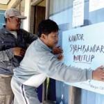 Nelayan Segel Kantor Syahbandar