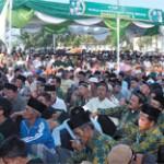 Ribuan Massa Padati Pengajian Akbar PKB