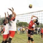 Tandingkan Bola Voli dan Badminton