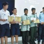 Tim Fisika SMP Buma Juara II Piala Gubernur