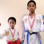 Dua Karateka Rebut Emas dan Perunggu