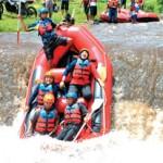 Bupati Jajal Rafting Karo Adventure