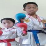 Kakak-Adik Menangi Kejurnas Karate di Maluku Utara