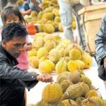 Durian Mulai Ramai tapi Masih Mahal
