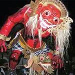 Arak Ogoh-ogoh Keliling Kampung