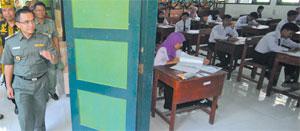 UNAS Hari Pertama 42 Siswa Absen