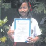 Nanda Sofiana Fahrosi, Peringkat I Try Out UAS SD Jawa Pos Radar Banyuwangi