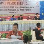 Prabowo 40,13%, Jokowi 59,87%