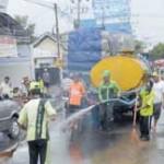 TNI-DKP Bersihkan Sisa Banjir