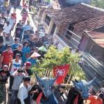 Tradisi Mengarak Kebo Keliling Kampung