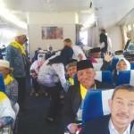 CJH Take Off Menuju Madinah