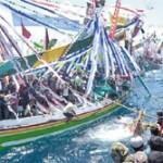 Nelayan Muncar Berpesta Petik Laut