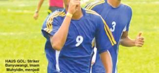 Momen Ukir Sejarah Tim Sepak Bola Banyuwangi vs Tulungagung