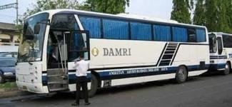 Bus Damri tak Masuk Terminal