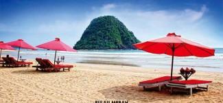 Pantai Pulau Merah Jadi Sepi