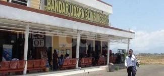 Aktivitas Bandara Blimbingsari Lumpuh