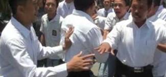 Pantau Situasi, Anggota Intelkam Dikejar-kejar Siswa